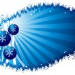 Christmas background vector — Imagen vectorial
