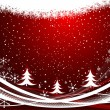 Christmas background vector — Stock Vector #7683322