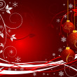 Christmas background vector — Stock Vector #7683349