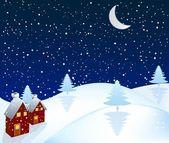 Christmas background vector — Stock Vector