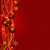 Weihnachten hintergrund vektor — Stockvektor