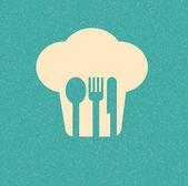 Affiches rétro de restaurant menu — Vecteur