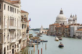 View from bridge Accademia bridge — Stock Photo