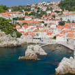 Stock Photo: Rooftops of old town Dubrovnik, Croatia