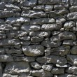 Stock Photo: Drystone wall