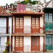 Bright facades of Porto, Portugal — Stock Photo