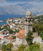 Chapel of Our Lady of Salvation above Kotor town, Montenegro — Stock Photo