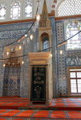 Traditional minbar of mosque — Stock Photo
