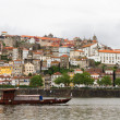 Stock Photo: Porto with boats on river, Portugal