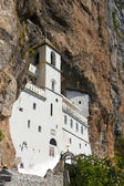 Monastery of Ostrog built, Montenegro — Stock Photo
