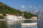 Quiet historic town of Perast , Montenegro — Stock Photo