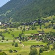 Walser village in Switzerland — Stock Photo #6953895
