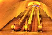 Subway of Lisboa — Stock Photo