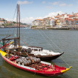 Port boats on Duora Porto, Portugal — Stock Photo #7020490