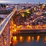 Ponte köprü dom luis yukarıda, Portekiz — Stok fotoğraf #7020495