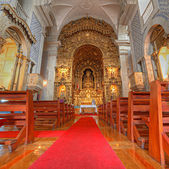 Portugal church with Azulejos — Stock Photo