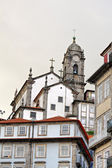 Porto city view with church, Portugal — Stock Photo