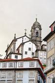 Porto city view with church, Portugal — Stock Photo