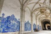 Church and cloister Sao Vicente de Fora Lisbon — Stock Photo