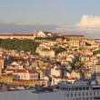 Lisbon cityscape at sunset, Portugal — Stock Photo #7037686
