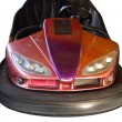 Bumper car isolated — Stock Photo