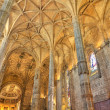 Interior of  Jeronimos Monastery Lisbon, Portugal — ストック写真