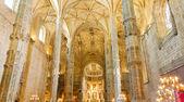 Ineror de lisbonne de monastère des hiéronymites, portugal — Photo
