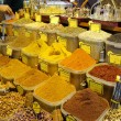 Stock Photo: Spice market in Istanbul Turkey