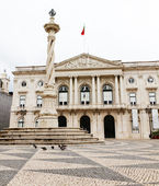 Historic town hall of Lisboa — Stock Photo