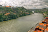 River Duoro valley Porto, Portugal — Stock Photo