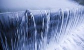 Cool, fresh, clean water cascade — Stock Photo