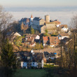 Historic village Regensberg, Switzerland — Stock Photo