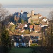 Historic village Regensberg, Switzerland — Stock Photo #7249273