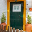 Quite portuguese private entrance — Stock Photo