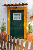 Quite portuguese private entrance — Stock Photo