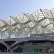 Lisbon modern architecture Gare do Oriente — Stock Photo