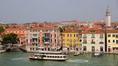 Histórico de venecia desde el agua — Foto de Stock