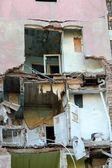Dom z apartamentami bez elewacji — Zdjęcie stockowe