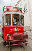 Tram of Lisbon, Portugal — Stock Photo