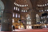 Interior of Blue mosque in Istanbul,Turkey — Stock Photo