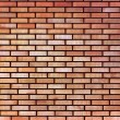 Red yellow beige tan fine brick wall texture background — Stock Photo #7855524
