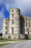 城堡入口 — 图库照片