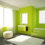 nowoczesne łazienki wnętrza — Zdjęcie stockowe #7822608