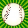 Ball for baseball — Stock Vector