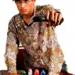Gangster Poker — Stock Photo