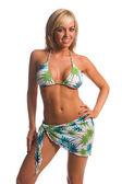Island Bikini Blonde — Stock Photo