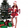 Royalty-Free Stock Photo: Santa\'s Sexy Helper
