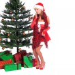 Santa's Sexy Helper — Stock Photo #6868140
