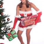 Sexy Mrs Claus — Stock Photo