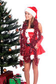 Sexy Assistant du père Noël — Photo